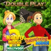Free Double Play: Nanny Mania 2 and Babysitting Mania Game