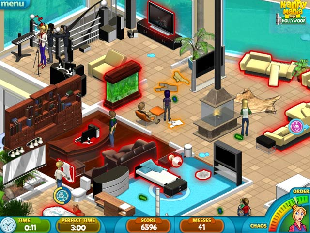 Double Play: Nanny Mania 2 and Babysitting Mania Game screenshot 1