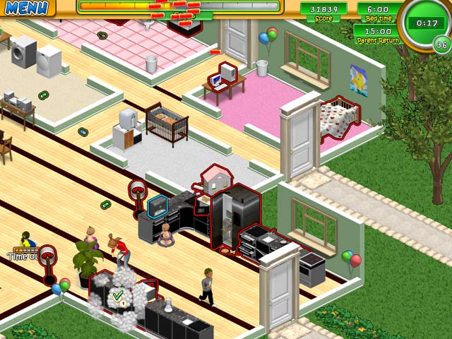 Double Play: Nanny Mania 2 and Babysitting Mania Game screenshot 4
