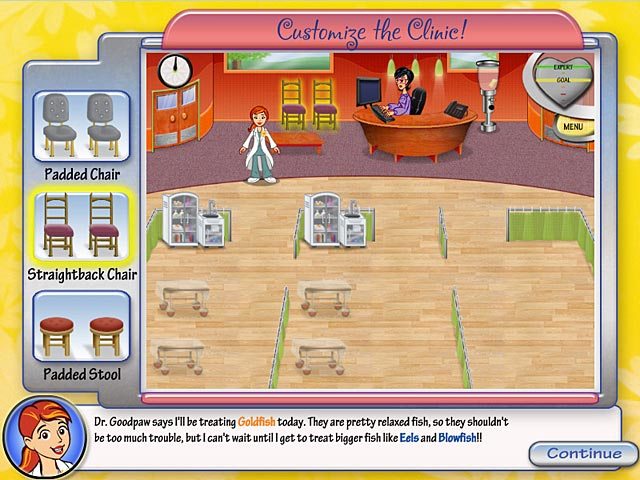 Dr.Daisy Pet Vet Game screenshot 2