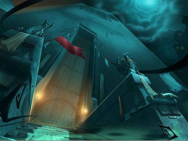 Drawn: Dark Flight Game screenshot 1