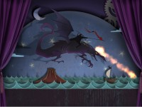 Drawn: Dark Flight Game screenshot 3