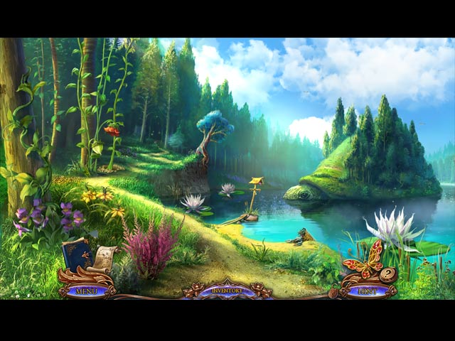 Dreampath: Curse of the Swamps Game screenshot 1