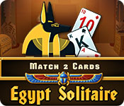 Free Egypt Solitaire Match 2 Cards Game