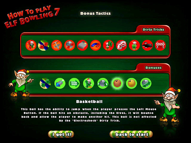Elf bowling 7 1 7 the last insult game download screenshot 2