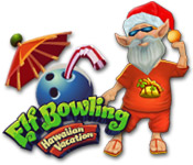 Free Elf Bowling: Hawaiian Vacation Game