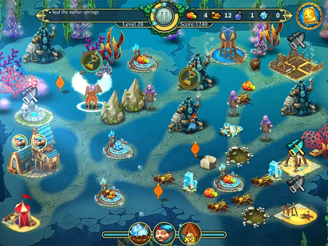 Elven Legend 3: The New Menace Collector's Edition Game screenshot 3