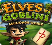 Free Elves vs. Goblin Mahjongg World Game