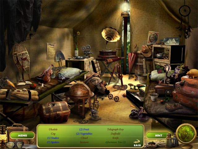 Escape from Thunder Island Game screenshot 3