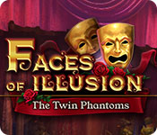 Free Faces of Illusion: The Twin Phantoms Game