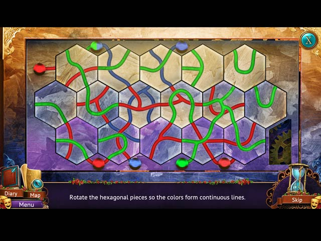 Faces of Illusion: The Twin Phantoms Game screenshot 3