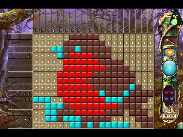 Fantasy Mosaics 13: Unexpected Visitor Game screenshot 3