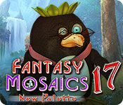 Free Fantasy Mosaics 17: New Palette Game