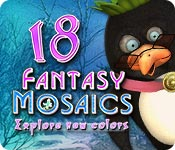 Free Fantasy Mosaics 18: Explore New Colors Game