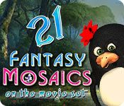 Free Fantasy Mosaics 21: On the Movie Set Game