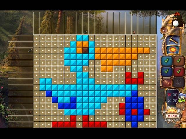 Fantasy Mosaics 21: On the Movie Set Game screenshot 3