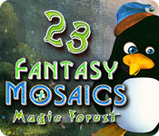 Free Fantasy Mosaics 23: Magic Forest Game