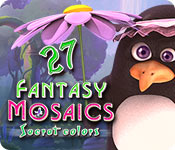 Free Fantasy Mosaics 27: Secret Colors Game