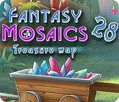 Free Fantasy Mosaics 28: Treasure Map Game