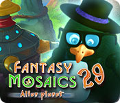 Free Fantasy Mosaics 29: Alien Planet Game