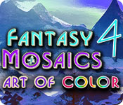 Free Fantasy Mosaics 4: Art of Color Game