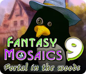 Free Fantasy Mosaics 9: Portal in the Woods Game