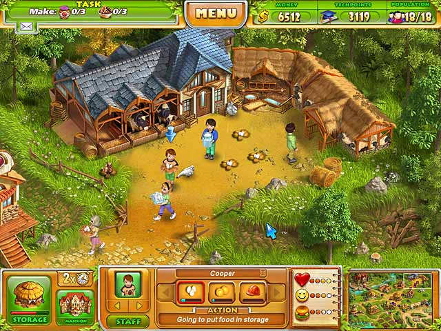 Farm Tribe 2 Game screenshot 1