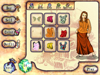 Fashion Fable Game screenshot 2
