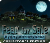Free Fear for Sale: The Mystery of McInroy Manor Collector's Edition Game