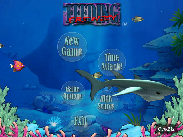 Feeding Frenzy Game screenshot 1