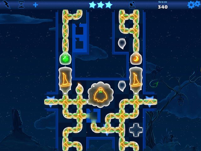 Fiber Twig: Midnight Puzzle Game screenshot 2