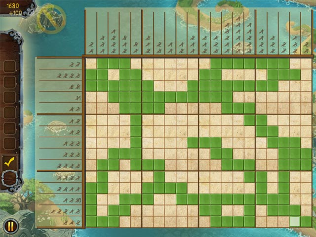 Fill and Cross Pirate Riddles 3 Game screenshot 3