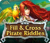 Free Fill and Cross Pirate Riddles Game