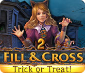 Free Fill and Cross: Trick or Treat 2 Game