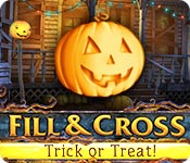 Free Fill and Cross: Trick or Treat Game