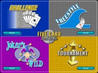 Five Card Deluxe Game screenshot 1