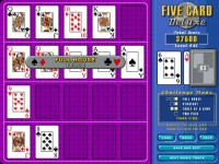 Five Card Deluxe Game screenshot 2