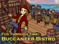 Flo Through Time: Buccaneer Bistro Game screenshot 1