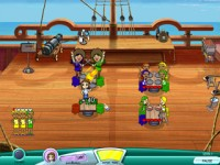 Flo Through Time: Buccaneer Bistro Game screenshot 2