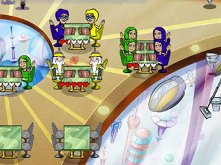 Flo Through Time: Snack to the Future Game screenshot 3