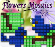 Free Flowers Mosaics Game