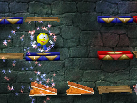 Flying Doughman Game screenshot 1