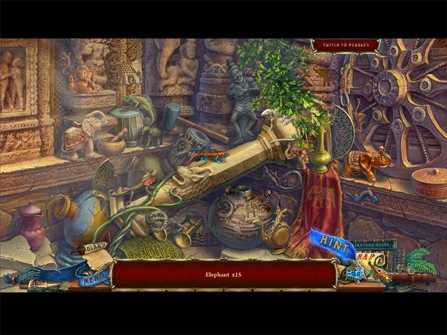 Forgotten Books: The Enchanted Crown Collector's Edition Game screenshot 1