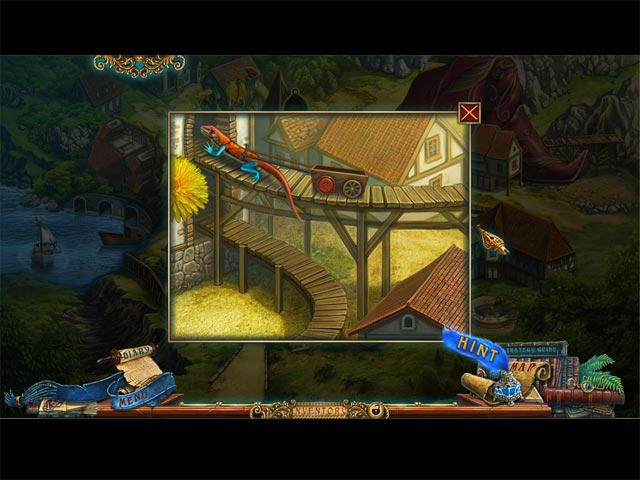 Forgotten Books: The Enchanted Crown Collector's Edition Game screenshot 2