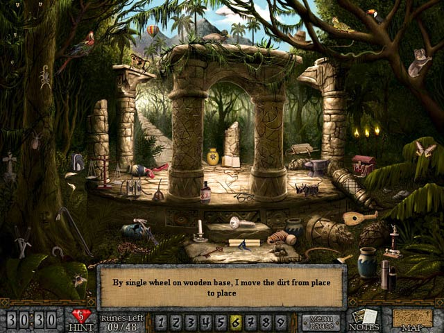 Forgotten Riddles: The Mayan Princess Game screenshot 1