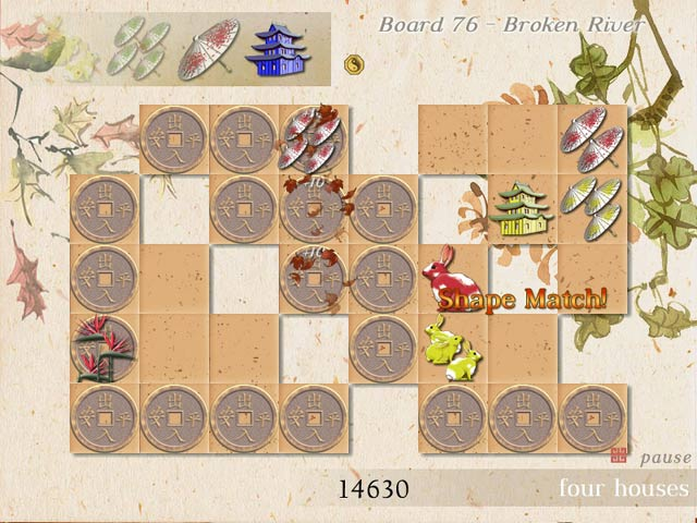 Four Houses Game screenshot 3