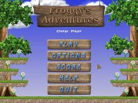 Froggy's Adventures Game screenshot 1