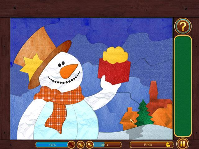 Frozen Patchworks Game screenshot 3