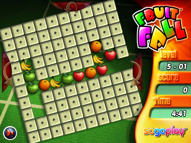 Fruit Fall Deluxe Edition Game screenshot 1