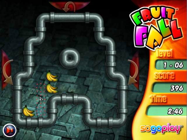 Fruit Fall Deluxe Edition Game screenshot 3